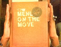 """Menu on the move"" - Ajo menu design"
