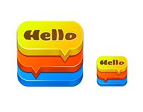 Translate icon iOS