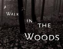 Bill Bryson's 'A Walk in the Woods,' Book Re-design