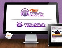 TTnetMuzik | Logo Design