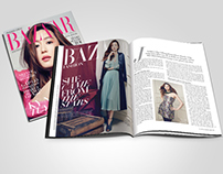 Harper's Bazaar Vietnam | 05.2014