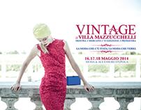 Comunicazione per Vintage a Villa Mazzucchelli 2014