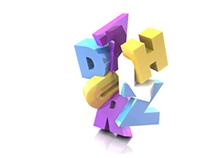 HDZRLZ 3D Typography