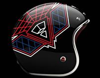 Daft Punk Vintage Bike Helmets