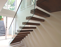 Montague Bespoke Floating Staircase
