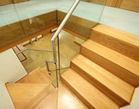 Hartley Bespoke Staircases for a Contemporary Home