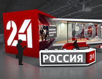 «Russia 24» Economic Forum SPIEF 2014