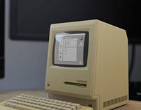 Mac Plus 1986