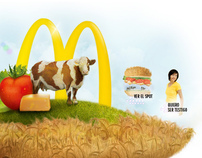 McDonald's: real ingredients