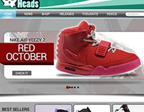 Kick Heads Website
