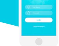 IRFAQ Private social network UI
