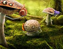 Vodafone Mushrooms Campaign