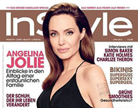 Angelina Jolie for InStyle cover
