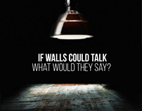 If walls could talk - Temporary promotional experience