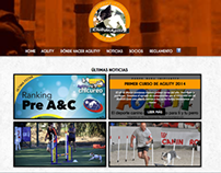 Dog Agility Web design