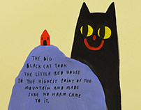 The Big Black Cat.
