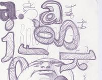 Typography / Lettering Sketchbook 1/2011