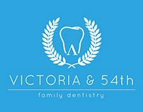 Victoria & 54th Logo Study