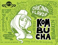 GT's Kombucha Package Redesign