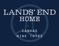 Canvas Wine Totes