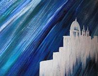 Abstract Malta Landscape Scenes