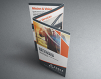 Trifold A4 Corporate Brochure for Eagle Enterprises