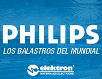 PHILIPS & ELEKTRON - Los Balastros del Mundial