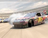 NASCAR Game Commercial