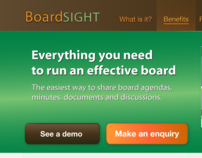 Designer: BoardSIGHT, a CMS product for Boards.