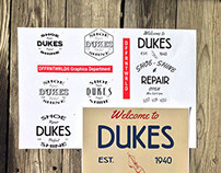 Client: Dukes Shoe Repair