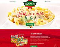 Panzani – microsite