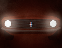 Ford Mustang -Father's Day-