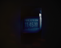 Clock Pulse Concept - Black