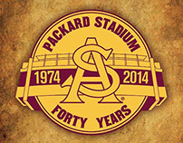 Historic Packard Stadium Final Season Logo