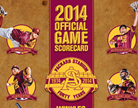 2014 ASU Baseball Scorecard