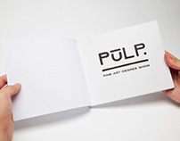 PULP 2014  - Catalogue Design