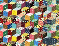 Tumbling Blocks Surface Pattern Design
