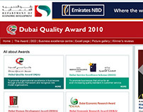 Dubai Quality Awards 2010 - Digital Marketing