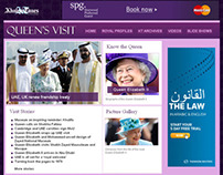 Khaleej Times - Queen's Visit Coverage