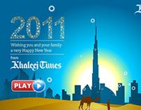 New Year Creative / Flash Animated