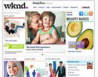 Khaleej Times - Magazine - Wknd. Website- www.wknd.ae