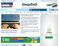 www.khaleejtimes.com  Web Design