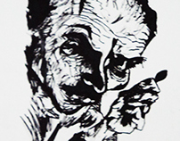 Ludwig Meidner Self Portrait Study