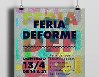 Feria Deforme: Flyers y Banners para Facebook