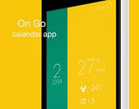 On Go   calendar app
