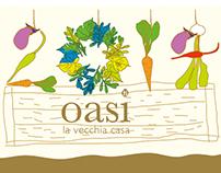vegetables illustration for restaurant