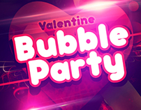 Bubble Party Poster