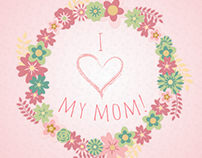 Mother's Day Greeting Poster