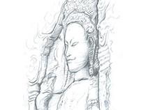 Cambodia & Thailand Sketching
