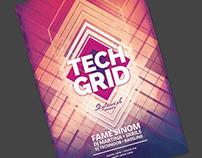 Tech Grid Flyer